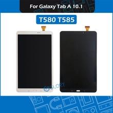 10.1 T580 T585 LCD assemblea di Schermo Per Samsung Galaxy Tab 10.1 SM T580 SM T585 Display assemblea di Ricambio