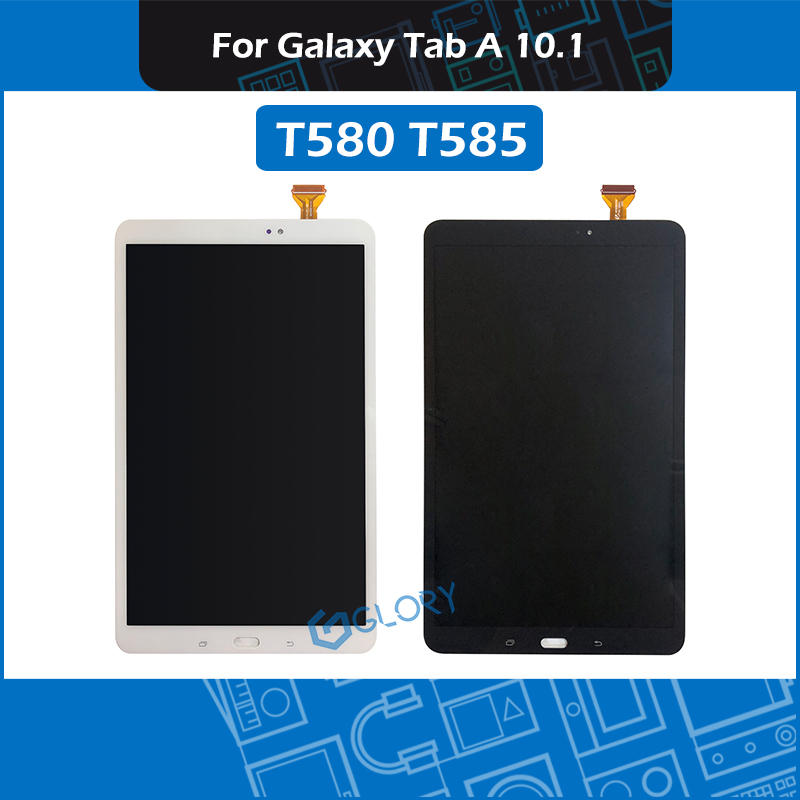 New 10.1'' T580 T585 LCD Screen assembly For Samsung Galaxy Tab A 10.1 SM T580 SM T585 Display assembly Replacement
