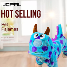 JCPAL Warm Pet Dog Hoodie Clothes 5 Size For Small Medium Large Dogs Soft Winter Clothing Cute Puzzle Bobble Pajamas