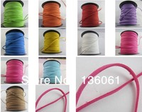 100M 2mm Cotton Waxen Necklace Bracelet Wax Bead Cords Thread String Wire DIY Jewelry Findings Free