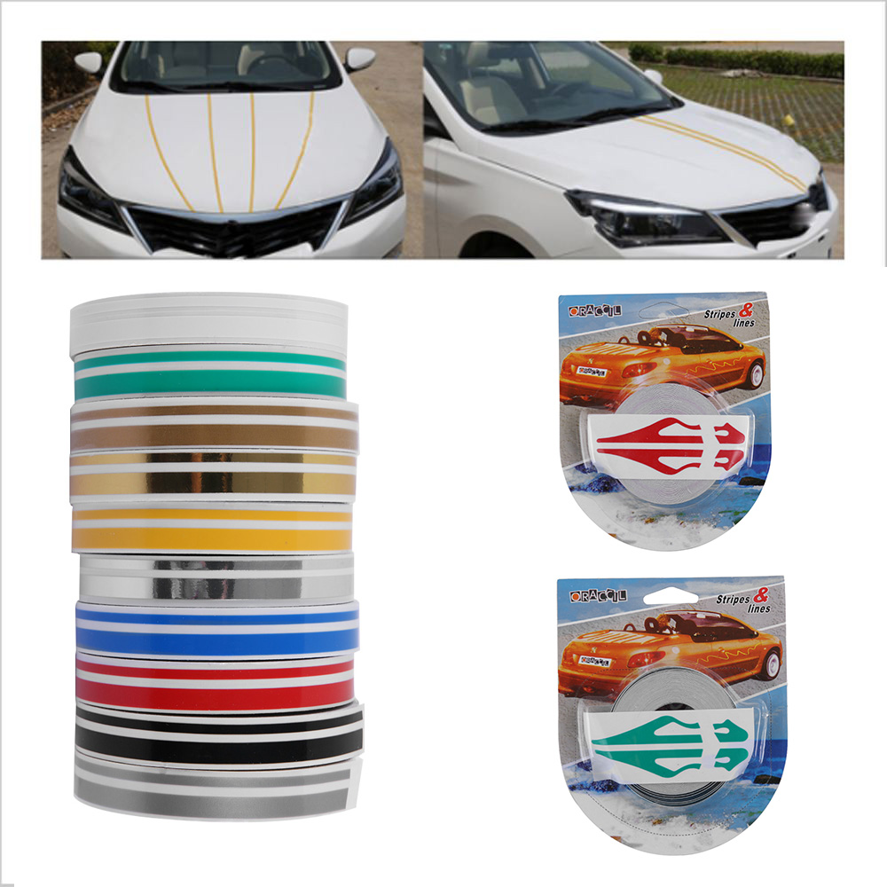 "1//2/"" Vinyl Pinstriping Pin Stripe Car DIY Styling Trim Tape Decal Sticker 12mm"