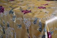 Шелк плоский Простыни 1 шт. кровать Простыни 100% шелк тутового напечатаны заказ приемлем цветочный Цвет Твин Полный Queen king ls260712