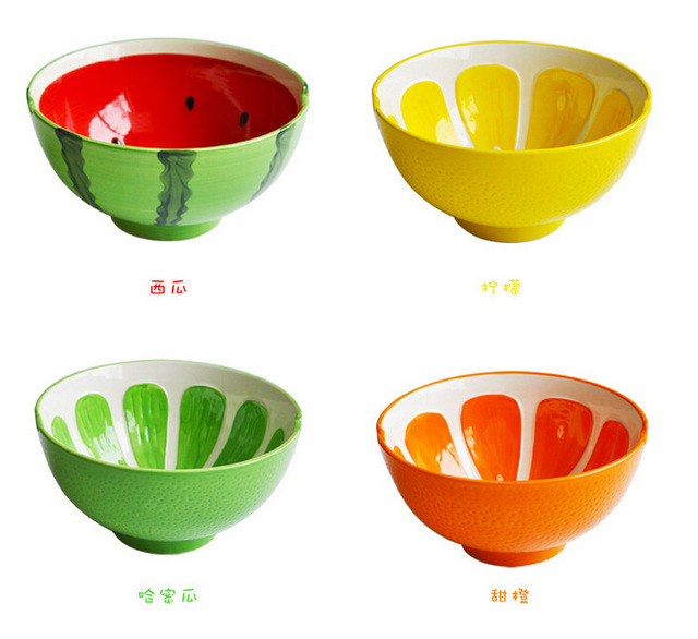 Creative Fruits Pattern Ceramic Cereal Bowl Porcelain Soup Holder Childrenu0027s Favorite Special Busniess Gift Tableware Dinnerware  sc 1 st  AliExpress.com & Creative Fruits Pattern Ceramic Cereal Bowl Porcelain Soup Holder ...