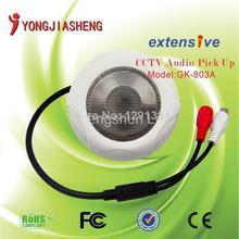 HiFi Low noise CCTV sound monitor audio pickup Microphone up to 5-100m2 Pickup Range high quality CCTV sound monitor