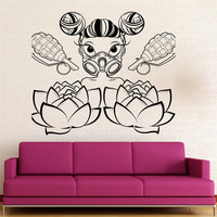 Hot Sale Non Toxic PVC Material Wall Sticker Vinyl Decal Baby Room Child For Moms Family