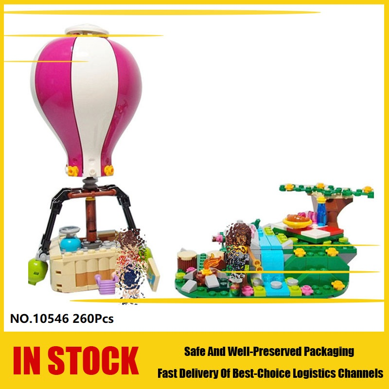 Bela 10546 Friends Heartlake City Air Balloon Andrea Noah Building Blocks Educational toys for