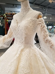 Image 5 - LS354711カウント列車の王女のウェディングドレス2018の恋人夜会服のウェディングガウン直接購入 блестящее платье
