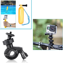 16-In-1 Sport Accessory Kit for GoPro Hero4 Session Hero1 2 3 3+ 4 SJ4000 5000 6000 7000 in Swimming Outdoor Sports