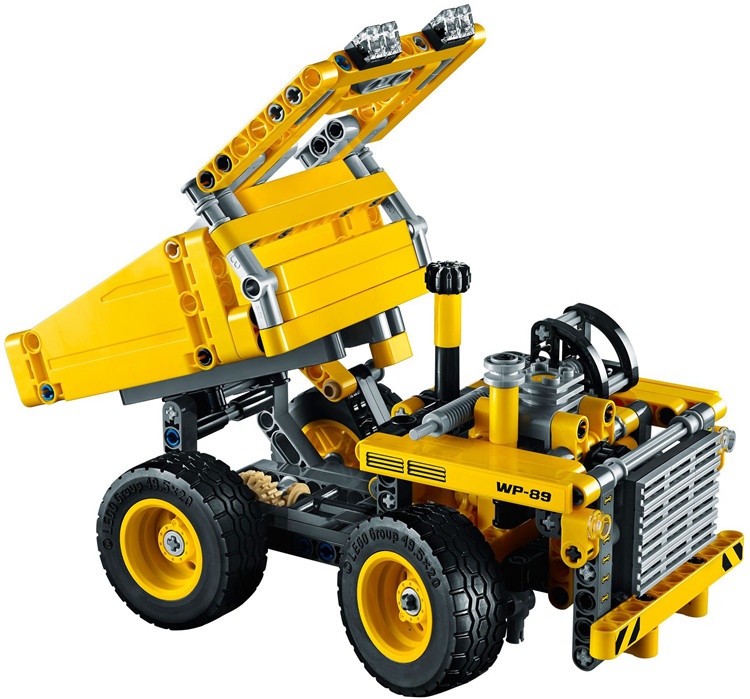 NEW-ARRIVAL-DECOOL-3353-TECHNIC-Mining-Truck-Model-Kit-362pcs-set-Buidling-block-set-compatible-4235