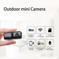 720 p mini usable Cámara del deporte al aire libre súper pequeño portable video recorder WiFi DVR mini DV DVR Magnetic clip voz grabadora