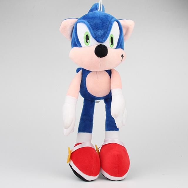 shang ji x 1pcs 30cm Sonic Plush Toys Doll Blue Sonic The Hedgehog Plush Soft Stuffed Toys for Kids Children Christmas Gifts