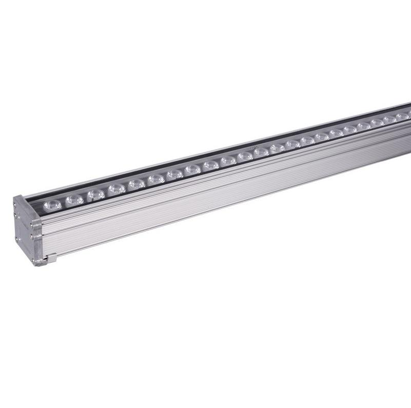 36 w conduziu a arruela da parede/100 cm (3ft) carcaça de alumínio linear/ip65 uso exterior à prova de chuva
