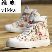 Femmes toile chaussures pour 2017 printemps et automne femme Haute-top pur noir classique casual chaussures chaussures taille 35-44