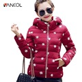 Down Parkas Outwear Thick Hoody Slim Snowflake Winter Coats Warm Zipper Casual Coat Women Down Parkas for Women Jacket Winter