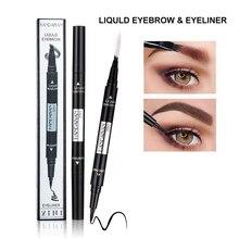 Black Eyeliner make up HANDAIYAN Best Waterproof Multi-purpose Pen High Pigment Long Lasting Easy to Wear new brand