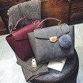 2017 designer de Marca bolsas femininas bolsas femininas de Couro senhoras bolsa Padrão Bolsa Bolsa de Ombro Fêmea Sacola Saco Sac