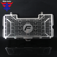 Riderjacky For BMW F650GS F700GS F800GS F800S F800 GS F800R CNC Stainless Steel Motorcycle Radiator Grille Guard Cover Protector
