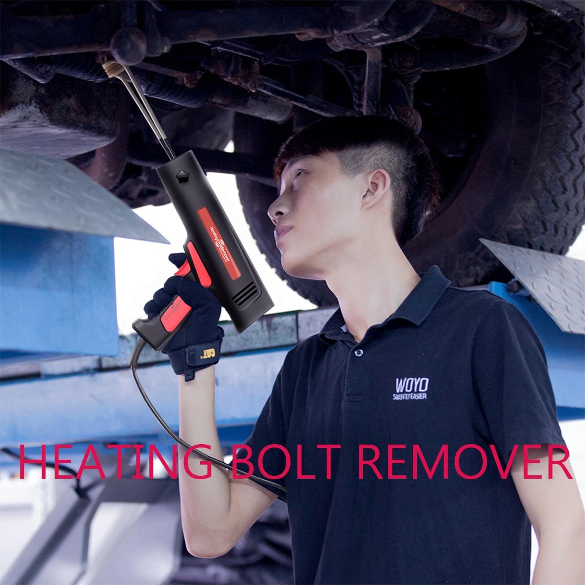 Магнитная индукционный нагреватель комплект для автомобильной Беспламенное 12V-110-220V ремонта автомобиля нагрева болт Remover