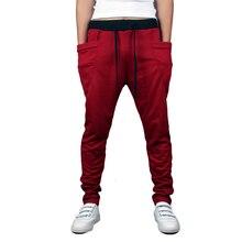 Hot Sale Fashion Men Joggers Casual Harem Sweatpants Pants Trousers Sarouel Mens Tracksuit Bottoms Track Pants Joggers
