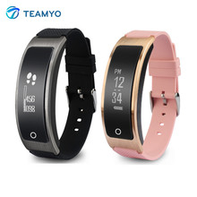 Teamyo i8 смарт браслет говорить диапазон сердечного ритма монитор артериального давления часы с шагомер сна фитнес-трекер спорт браслет