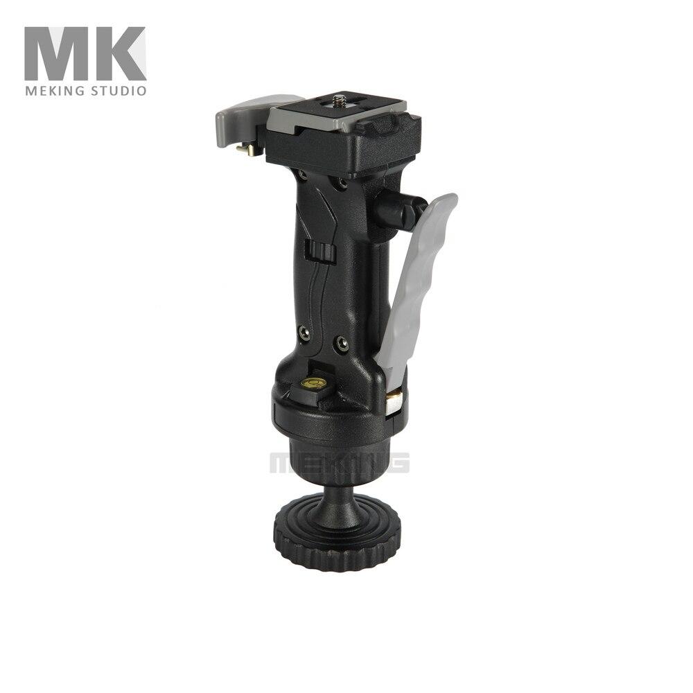 Meking Joystick Action tête de trépied de caméra à rotule FJT pour caméra avec plaque de dégagement rapide