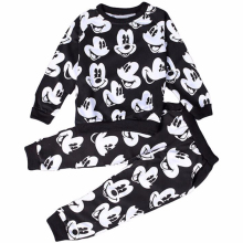 Baby Boys Girks Mickey Minnie Brand Sport Clothing Sets Children Clothes Kids Cartoon Boy Hoodied T