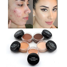 Popfeel Waterproof 5 Colors Hide Blemish Full Cover Concealer Creamy Make Up Face Lip Eye Foundation Face Concealer Cream Makeup все цены