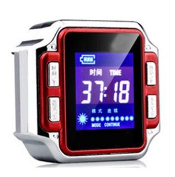 Watch of wrist of 6500 mm household semiconductor laser fields type three-high rhinitis physiotherapy glucose meter fields of vision
