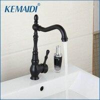 Kitchen Faucet ORB Brass Basin Faucet Kitchen Water Faucet Basin Mixer Black Crane Cock Torneira Faucet