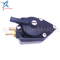 0438555 438555 0433386 433386 Fuel Pump for Johnson Evinrude OMC BRP 20 30hp Boat Motor Small Nipple Free Shipping