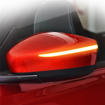 Door Wing Side rear view mirror flowing moving blinker sequential LED trip Dynamic turn signal light for nissan Klcks bluebird