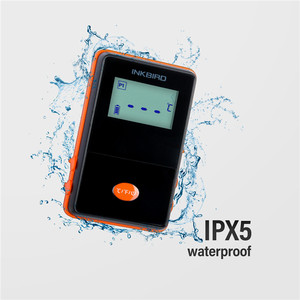 Image 3 - Inkbird IRF 4S Four Probes Remote Wireless Waterproof Grill Thermometer , 1000 Feet Signal, USB Charging Cable Orange