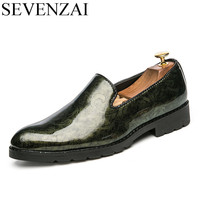 Men S Cool Italian Glossy Patent Leather Oxford Shoe Luxury Brand 2017 Male Unique Fashion Pointed