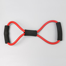 5*8*1000MM  8 - Word Tension Device Yoga Tension Rope Expansion Chest Device Household Exercise Tension Device Fitness Device