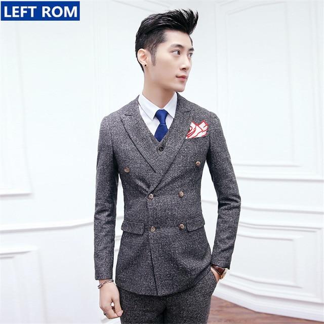 Online Shop Hot Sale Mens Suits Jackets   Men Pants   Suit Vest ...
