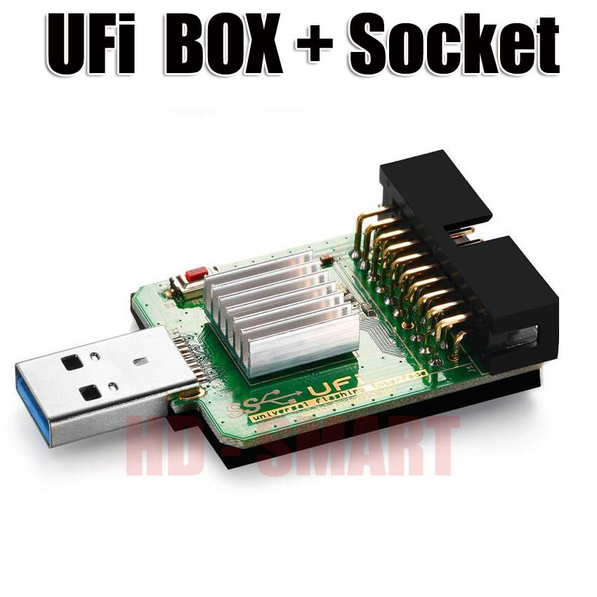 US $319 8  2019 new original UFI Box power Ufi Box ful EMMC Service Tool  Read EMMC user data, as well as repair, resize, format,-in Telecom Parts  from