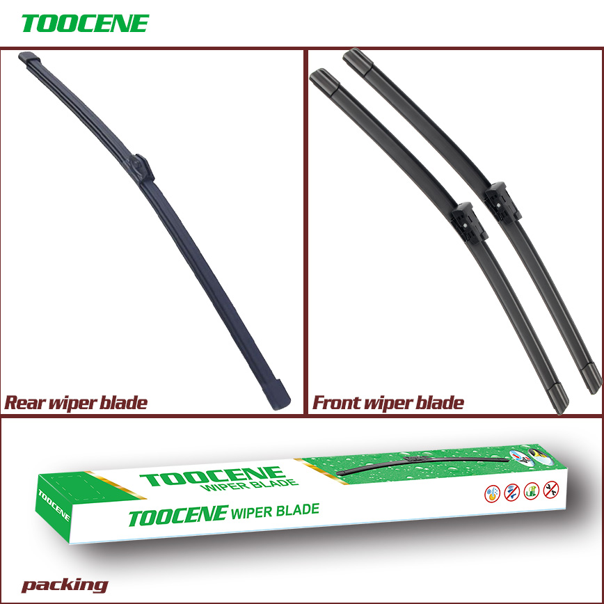 Front and Rear Wiper Blades For <font><b>Audi</b></font> <font><b>A6</b></font> C7 2011-2017 Windshield Windscreen wiper Window 26