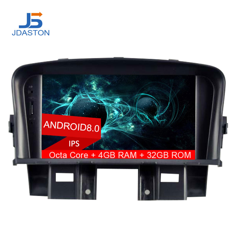 JDASTON Octa Cores 4G+32G Android 8.0 Car DVD Player For Chevrolet Cruze 2008 2009 2010 2011 2012 GPS Multimedia 2 Din Car radio цена