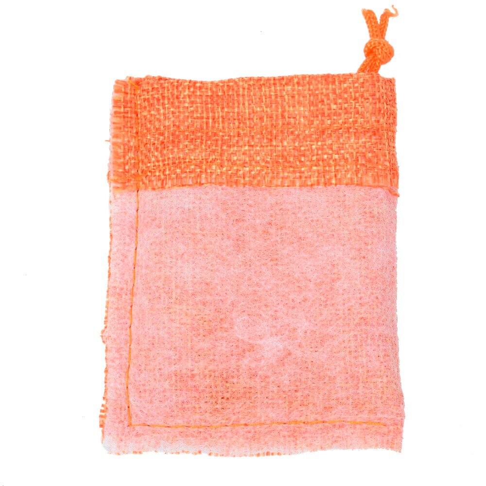 Купить с кэшбэком 1000pcs 7x9cm/2.7x3.5 inch Jute Hessian Drawstring Wedding Favor Christmas Gift Phone Storage Burlap Jute Bag 16 colors pouch