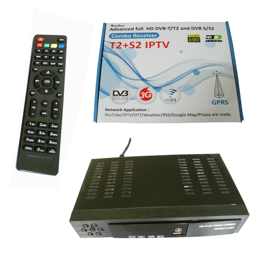 Digital HD Satellite DVB-T2 DVB-S2 combo TV Receiver Support YouTube CCCAM IKS Bisskey WIFI Dongle DVB T2 USB TV Tuner freesat v7 hd powervu satellite tv receiver dvb s2 with 3months free africa cccam account stable on starsat 5e
