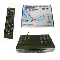 Digital HD Satellite DVB T2 DVB S2 combo TV Receiver Support YouTube CCCAM IKS Bisskey WIFI Dongle DVB T2 USB TV Tuner