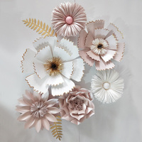 Giant Paper Flowers Peony Large Rose Chrysanthemum Diy Home Wedding Photography Background Wall Decoration Flowers Scrapbooking