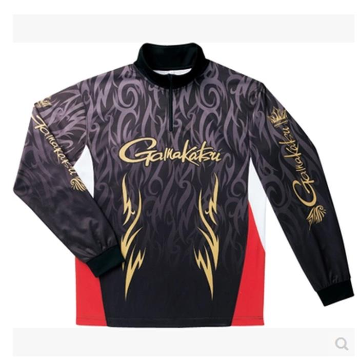 ФОТО 17 NEW Gamakatsus Fishing Long sleeve clothes Anti mosquito GM-3418 Ultrathin outdoor Sunscreen Breathable summer Free shipping