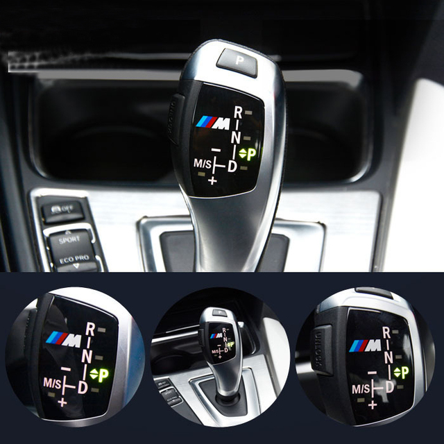 Aliexpress Com Buy 3d Abs M Motorsport Gear Knob Trim Sticker