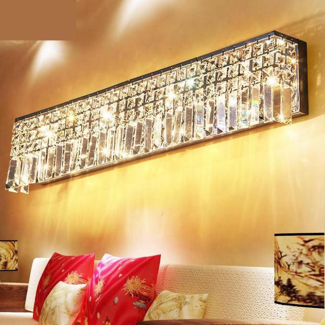 Led Bar club crystal lighting for Tea room Restaurant led Living room hallway wall lamps project industrial wall lighting Abajur