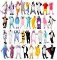 Invierno Unisex Adultos Pijamas Cosplay Animal Onesie Pijamas Stitch Zebra Panda Totoro Oso Bat Lobo Unicorn Pig Coon