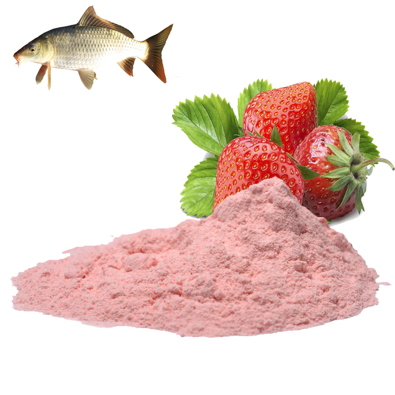 1 Bag 20g Strawberry Flavor Additive for Carp Fishing Groundbait Flavours Fishing Bait Making Scent Carp Fishing Feeder Baits rompin 100pcs bag red carp fishing bait smell grass carp baits fishing baits lure formula insect particle rods suit particle