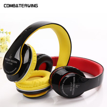 JKR-213B Wireless Bluetooth Headband Headset Earphone For Phone Stereo Style Headphone Support TF Audio FM radio