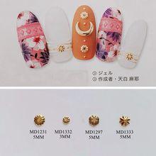 3D approx.500шт/сумка металлические шпильки цветок формы ногти, декорирование, цветы шпильки деко