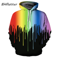 BHflutter Space Galaxy 3d Sweatshirts Women Hoodies With Hat Print Stars Nebula Autumn Winter Tops Loose Thin Hooded Tracksuits